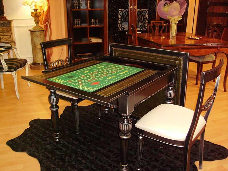 Tavolo da gioco con roulette - Dungeon gioco da tavolo ...